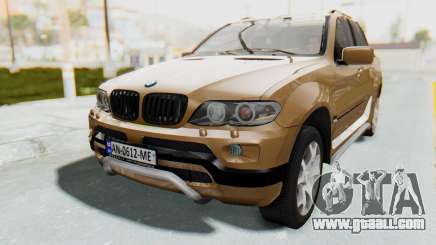 BMW X5 Pickup for GTA San Andreas