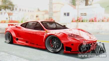 Ferrari 360 Modena Liberty Walk LB Perfomance v2 for GTA San Andreas