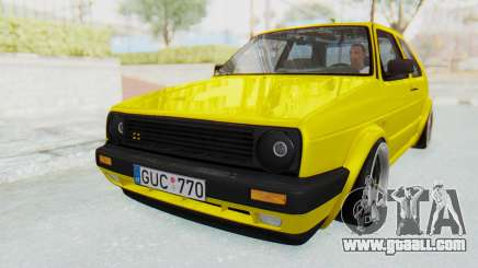 Volkswagen Golf Mk2 Lemon for GTA San Andreas