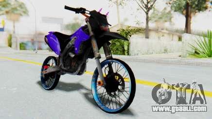 Kawasaki KLX150S Thailock Style for GTA San Andreas