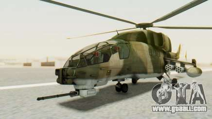 WZ-19 Attack Helicopter Asian for GTA San Andreas