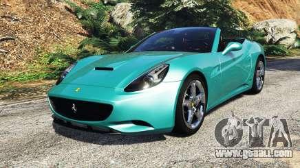 Ferrari California Autovista [add-on] for GTA 5