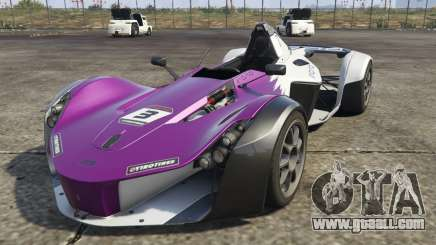 BAC Mono for GTA 5