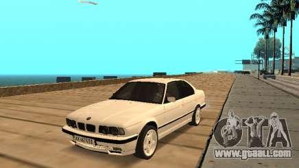 BMW E34 - EK edition for GTA San Andreas