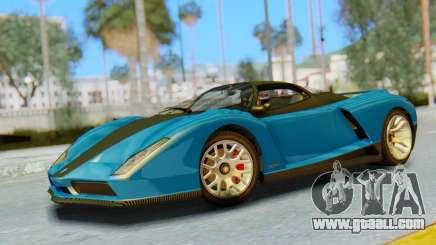 GTA 5 Grotti Cheetah SA Lights for GTA San Andreas
