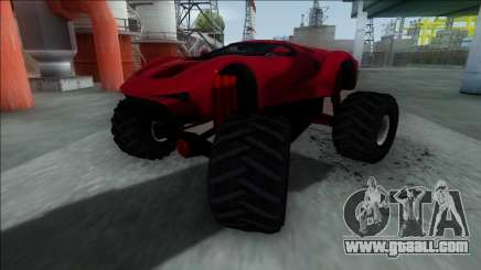 GTA V Vapid FMJ Monster Truck for GTA San Andreas