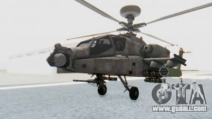 AH-64 Apache Desert for GTA San Andreas