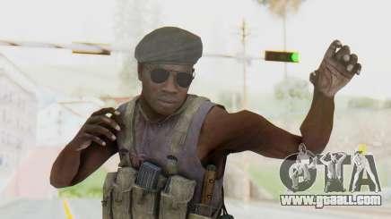 CoD MW3 Africa Militia v1 for GTA San Andreas