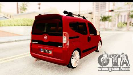 Fiat Fiorino v2 for GTA San Andreas left view