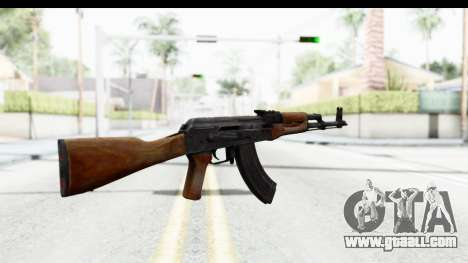 AKM 7.62 for GTA San Andreas second screenshot