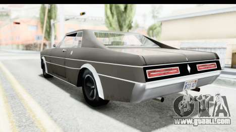 Imponte Tempest 1966 for GTA San Andreas back left view