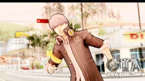 Persona 4: DAN - Yu Narukami Default Costume for GTA San Andreas