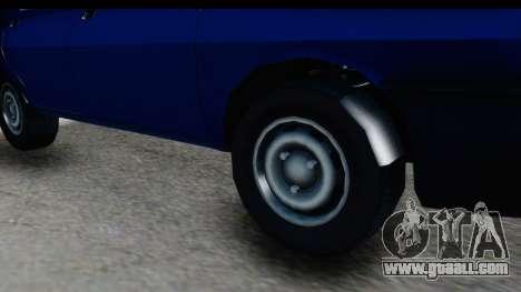 Dacia Liberta for GTA San Andreas back view