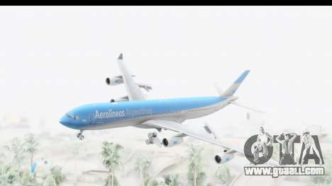 Airbus A340-300 Aerolineas Argentinas for GTA San Andreas