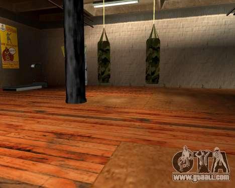 New military punching bag for GTA San Andreas second screenshot