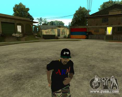 New Armenian Skin for GTA San Andreas twelth screenshot
