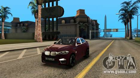 BMW X6M Bulkin Edition for GTA San Andreas
