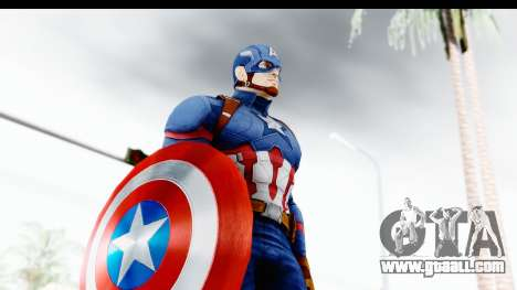 Marvel Heroes - Capitan America CW for GTA San Andreas