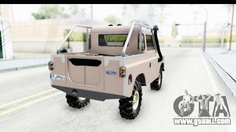 Land Rover Pickup Series3 for GTA San Andreas left view