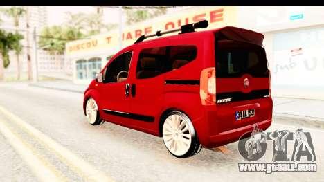 Fiat Fiorino v2 for GTA San Andreas back left view