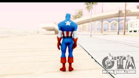 Marvel Heroes - Captain America for GTA San Andreas third screenshot