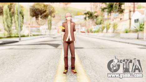 Persona 4: DAN - Yu Narukami Default Costume for GTA San Andreas second screenshot