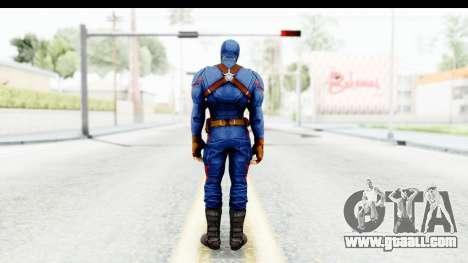 Marvel Heroes - Capitan America CW for GTA San Andreas third screenshot