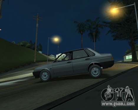 Vaz 21099 ARMNEIAN for GTA San Andreas left view