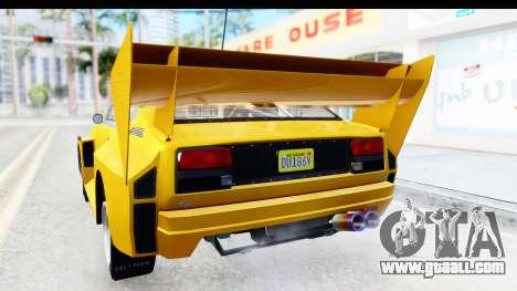 GTA 5 Obey Omnis IVF for GTA San Andreas interior