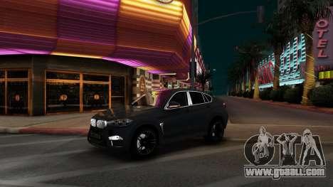 BMW X6M Bulkin Edition for GTA San Andreas left view