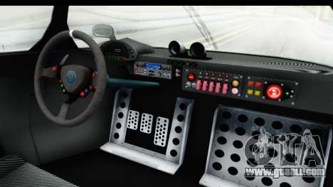 GTA 5 Annis RE7B for GTA San Andreas inner view