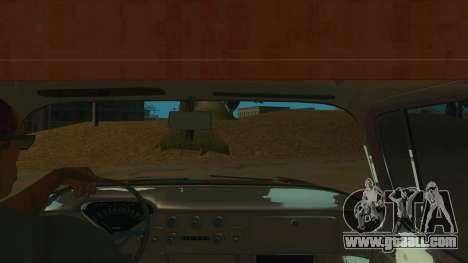 Chevrolet Apache for GTA San Andreas inner view