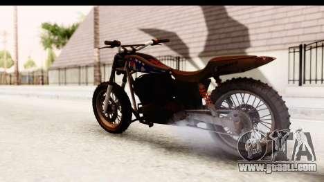 GTA 5 Western Cliffhanger Custom v2 IVF for GTA San Andreas left view