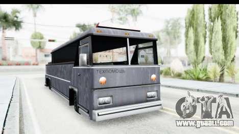 Towbus for GTA San Andreas right view