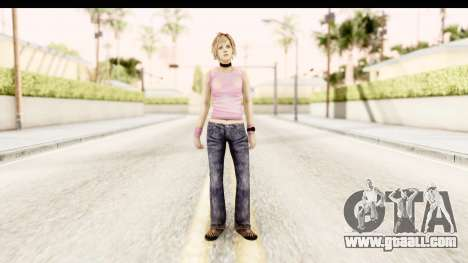 Silent Hill 3 - Heather Redone Less Gloomy for GTA San Andreas second screenshot