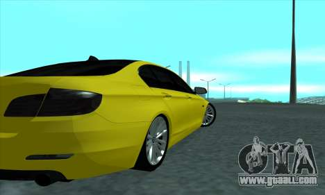 BMW 525 Gold for GTA San Andreas right view