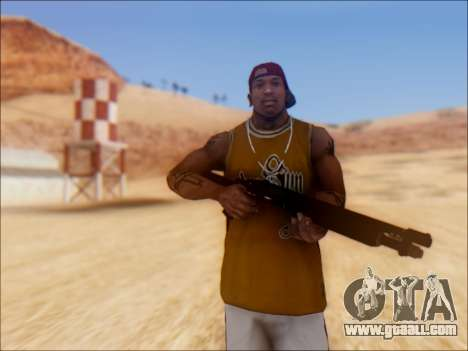 GTA V Shrewsbury Pump Shotgun for GTA San Andreas second screenshot
