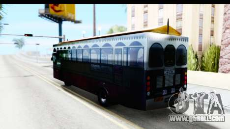 Cas Ligas Terengganu City Bus Updated for GTA San Andreas left view