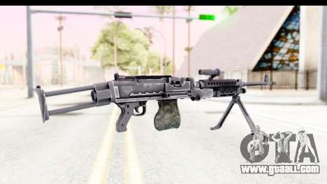 M240 FSK No Scope Bipod for GTA San Andreas second screenshot