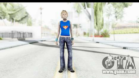 Silent Hill 3 - Heather Sporty Super Girl for GTA San Andreas second screenshot
