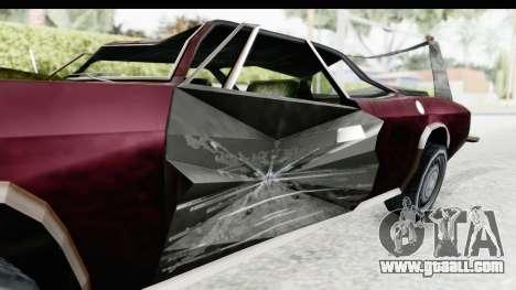 Tampa Daytona Kill for GTA San Andreas back view