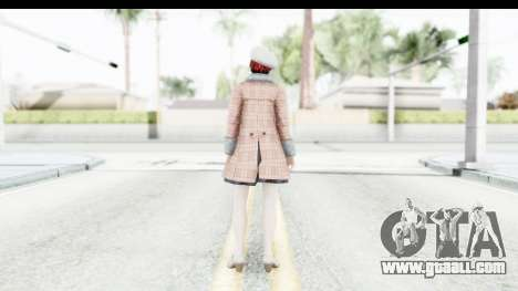 DoA 5 - Mila Casual for GTA San Andreas third screenshot