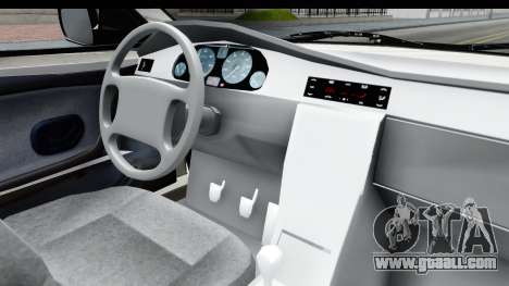 Ikco Samand Pickup v1 for GTA San Andreas inner view