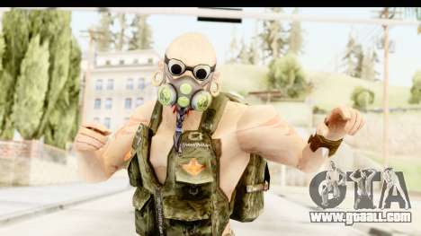 CrimeCraft Male Rogue for GTA San Andreas