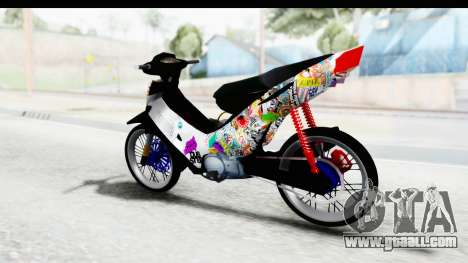 Honda Supra X 2004 Road Race for GTA San Andreas back left view