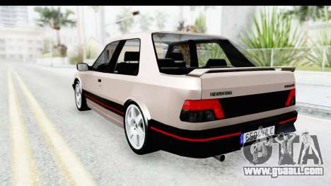 Peugeot 309 GTi for GTA San Andreas left view