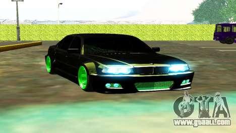 BMW 750 HAMANN for GTA San Andreas