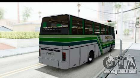 Kassbohrer Setra S215HD for GTA San Andreas back left view
