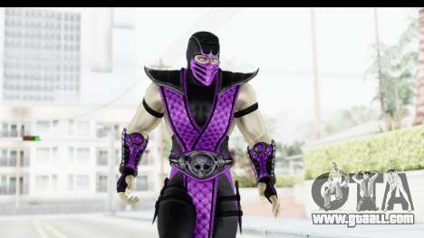 Mortal Kombat vs DC Universe - Rain for GTA San Andreas