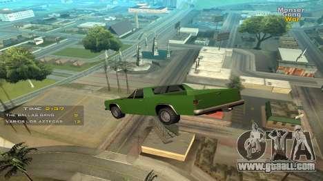 Cleo Jump Car for GTA San Andreas